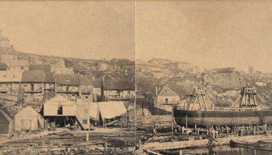 jfreeman bros john cuthberts wharf 1850s SLNSW
