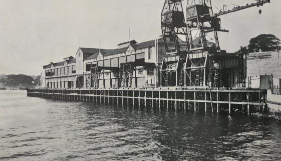 pier 1 and cargo loaders SHT report 1914
